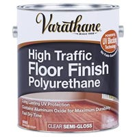 Ultra Thick Polyurethane Floor Finish, Semi-Gloss, Water-Based, 1-Gallon