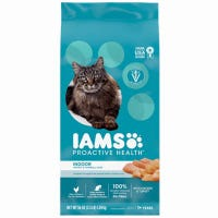 Proactive Health Indoor Weight/Hairball Care Cat Food, 7-Lbs.