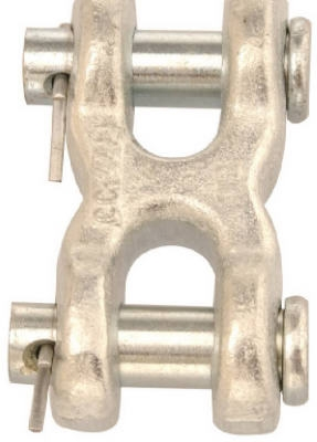 Image of Blue-Krome Double Clevis, 7/16-In.