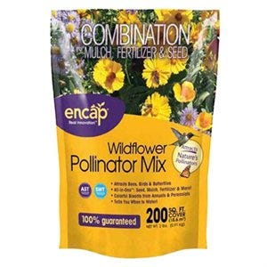 Pollinator Flower Mix, Covers 200 Sq. Ft.