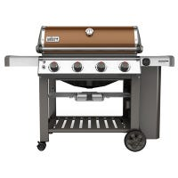 Weber Genesis II SE-410 Premium 4-Burner LP Gas Grill, 48,000-BTU, Copper