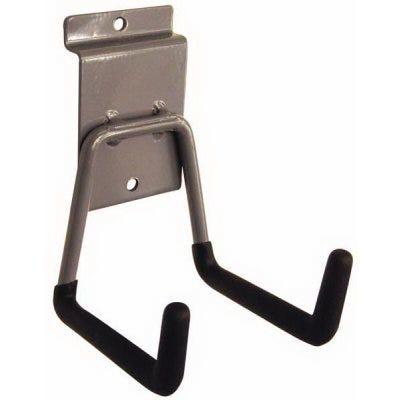 Short Arm Hook Tool Hanger, Zinc-Plated Steel