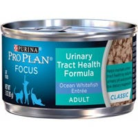 Cat Food, Urinary Tract Health, White Fish, 3-oz.