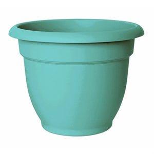 Ariana Planter, Plastic, Self-Watering, Calypso, 10-In.