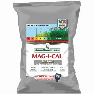 Mag-i-Cal Pelletized Calcium Fertilizer, Covers 15,000 Sq. Ft.,