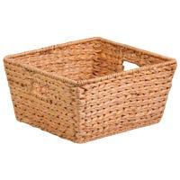 Nesting Water Hyacinth Basket, Brown, 15 x 15 x 8-In.