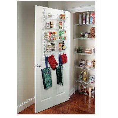 Image of Wall & Door Rack, 4-Tier, Adjustable
