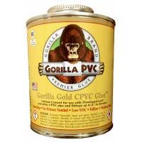Gold Plastic Pipe CPVC Glue, 4-oz.