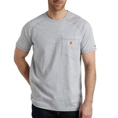 Image of Delmont Short-Sleeve T-Shirt Shirt, Heather Gray, Large