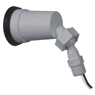 Lamp Holder, Bell, Non-Metallic, Gray