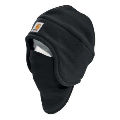 Fleece 2-In-1 Headwear, Black