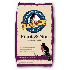 Wild Bird Food, Fruit & Nut, 20-Lb.