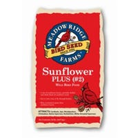 Wild Bird Food, Sunflower Plus #2, 20-Lb.