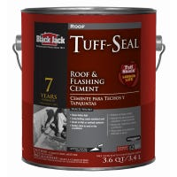 Tuff-Seal 7-Year Roof/Flashing Cement, 3.6-Qt.