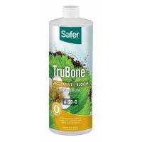 Trubone Hydroponic Liquid Plant Fertilizer, 6-20-0 Formula, 32-oz. Concentrate