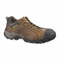 Men's Argon Safety Toe Leather Boot, Wide, Size 9