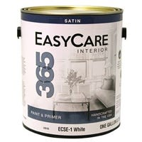 365 Interior Latex Wall Paint & Primer In One, Satin, Tintable White, Gallon