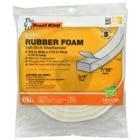Rubber Foam Weatherseal Tape, 3/4W x 7/16-In. T x 10-Ft.