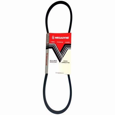 Rubber Industrial V-Belt, 1/2 x 66-In.