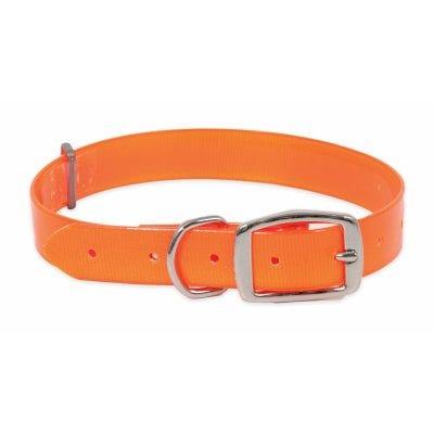 Ruff Maxx Collar, Orange, 1 x 14-22-In.