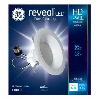 Reveal HD+ LED Fixture Light Bulb, 630 Lumens, 12-Watts