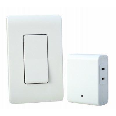 Wireless Wall Switch Remote, White