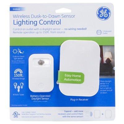 Dusk To Dawn Sensor Lighting Control