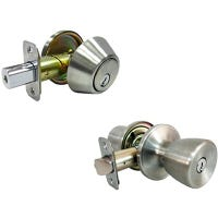 Combination Lockset, Stainless Steel