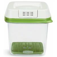 FreshWorks Produce Saver, Green, Medium