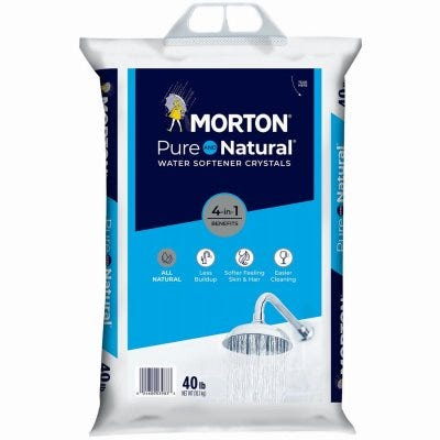 Pure & Natural Water Softening Crystals, 50-Lbs.