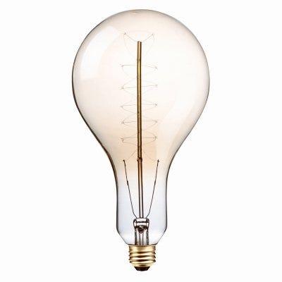 Vintage Oversized Light Bulb, PS42, 100-Watts,