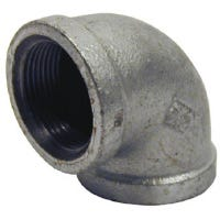 Galvanized Pipe Fitting, Equal Elbow, 90 Degree, 1-1/4-In.