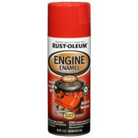 Engine Spray Enamel, Ford Red Gloss, 12-oz.