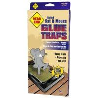 Baited Rat Glue Traps, 2-Pk.