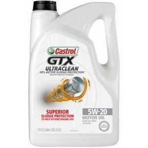 GTX Motor Oil, 5W20, 5 Qts.