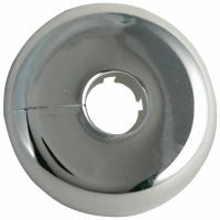 Floor & Ceiling Plate Flange, Chrome, 1/2-In.