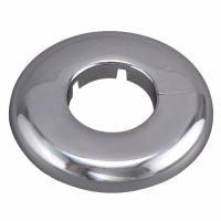 Floor/Ceiling Plate Flange, Chrome-Plated, 1-In.