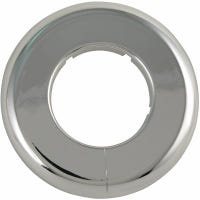 Floor/Ceiling Plate Flange, Chrome, 1.5-In.
