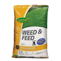 Weed & Feed, 28-0-3 Formula, 15,000-Sq. Ft. Coverage