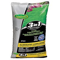 3-In-1 Weed & Feed/Crabgrass Preventer, 5,000-Sq. Ft. Coverage