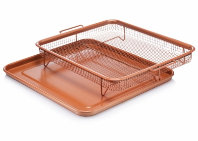 Image of Crisper Tray, Non-Stick Ceramic, 12 x 8.75-In.