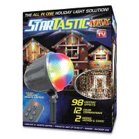 Max Holiday Light Show Projector, 122 Effects, Remote Control