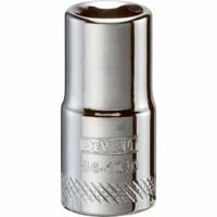 Metric Shallow Socket, 6-Point, 1/4-In. Drive, 7mm