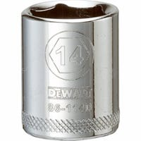 Metric Shallow Socket, 6-Point, 3/8-In. Drive, 19mm