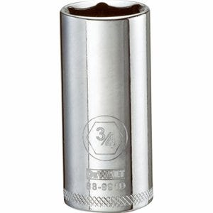 SAE Socket, Deep, 6-Point, 3/4-In., 3/8-In. Drive