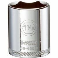 SAE Socket, Shallow, 6-Point, 1-1/16-In., 1/2-In. Drive