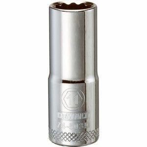 Metric Deep Socket, 12-Point, 3/8-In. Drive, 11mm