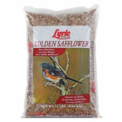 Golden Safflower Bird Food Seed, 12-Lbs.