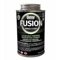 Fusion PVC Cement, Clear, 10-oz.