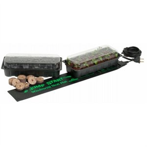 Image of Jump Start Hydroponic Windowsill Tray Kit With Heat Mat